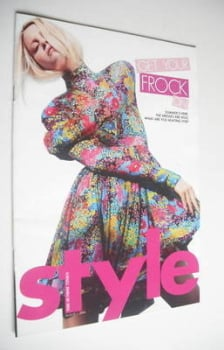 Style magazine - Get Your Frock On cover (1 August 2004)