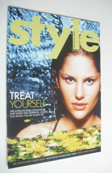 Style magazine - Treat Yourself cover (8 August 2004)