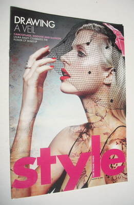 <!--2004-08-22-->Style magazine - Laura Bailey cover (22 August 2004)