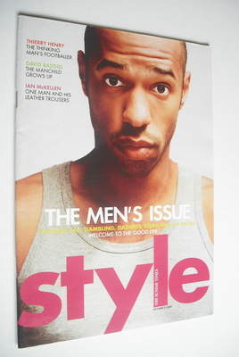 <!--2004-10-03-->Style magazine - Thierry Henry cover (3 October 2004)