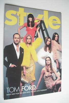 <!--2004-10-24-->Style magazine - Tom Ford cover (24 October 2004)