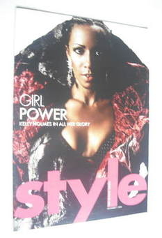 <!--2004-11-07-->Style magazine - Kelly Holmes cover (7 November 2004)