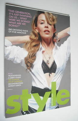 <!--2004-11-14-->Style magazine - Kylie Minogue cover (14 November 2004)