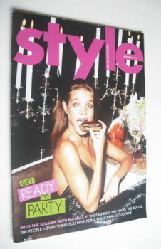 Style magazine - Natalia Vodianova cover (21 November 2004)