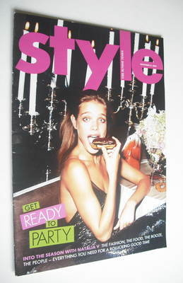 <!--2004-11-21-->Style magazine - Natalia Vodianova cover (21 November 2004