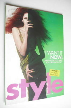 Style magazine - I Want It Now cover (28 November 2004)