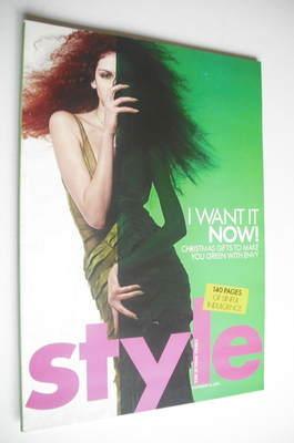 <!--2004-11-28-->Style magazine - I Want It Now cover (28 November 2004)