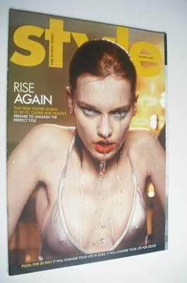 <!--2005-01-02-->Style magazine - Rise Again cover (2 January 2005)