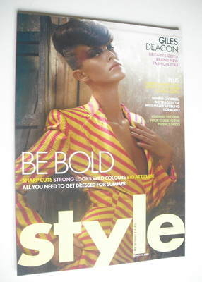 <!--2005-03-13-->Style magazine - Be Bold cover (13 March 2005)
