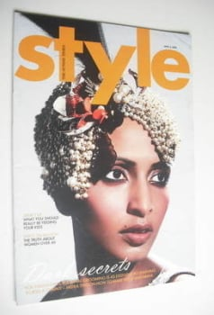 Style magazine - Dark Secrets cover (3 April 2005)