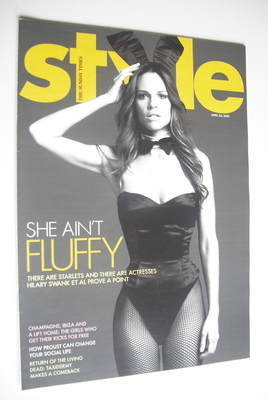 <!--2005-04-24-->Style magazine - Hilary Swank cover (24 April 2005)
