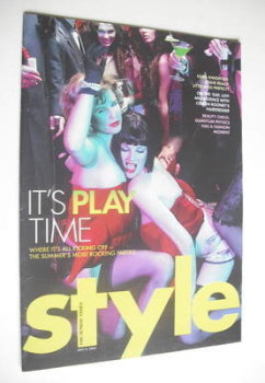 Style magazine - It's Play Time cover (8 May 2005)