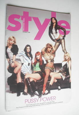<!--2005-12-04-->Style magazine - The Pussycat Dolls cover (4 December 2005