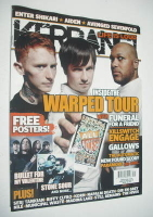 <!--2007-08-04-->Kerrang magazine - Warped Tour cover (4 August 2007 - Issue 1170)