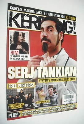 <!--2007-10-27-->Kerrang magazine - Serj Tankian cover (27 October 2007 - I