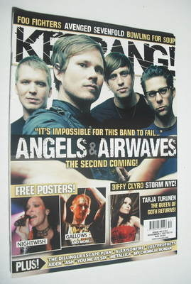 <!--2007-11-03-->Kerrang magazine - Angels and Airwaves cover (3 November 2