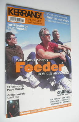 <!--2001-04-07-->Style magazine - Feeder cover (7 April 2001 - Issue 847)