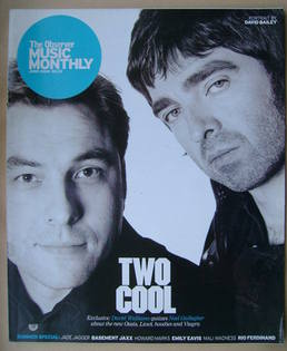 The Observer Music Monthly magazine - June 2005 - David Walliams and Noel Gallagher cover