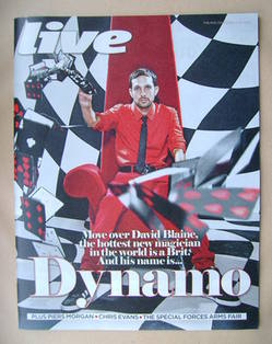 <!--2012-07-01-->Live magazine - Dynamo cover (1 July 2012)