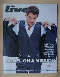 <!--2012-06-10-->Live magazine - David Gandy cover (10 June 2012)