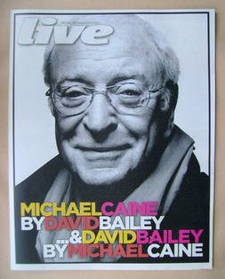 <!--2012-07-08-->Live magazine - Michael Caine cover (8 July 2012)
