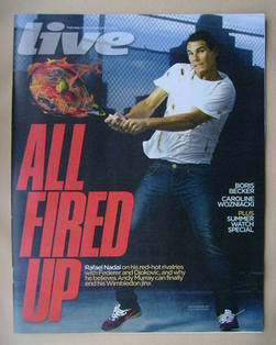 <!--2012-06-17-->Live magazine - Rafael Nadal cover (17 June 2012)