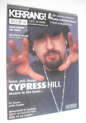 <!--2001-12-08-->Kerrang magazine - Cypress Hill cover (8 December 2001 - I