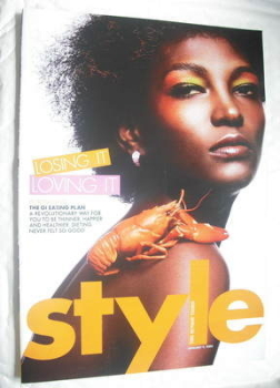 Style magazine - Losing It Loving It cover (9 January 2005)
