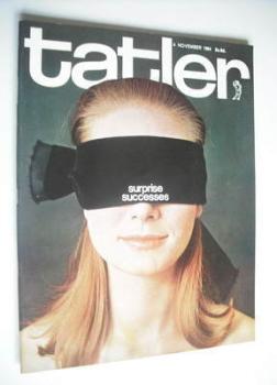 Tatler & Bystander magazine - 4 November 1964 - Tania Mallett cover