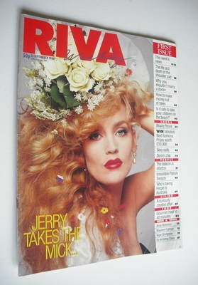 <!--1988-09-13-->Riva magazine - 13 September 1988 - Issue 1 - Jerry Hall c