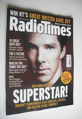 <!--2012-08-18-->Radio Times magazine - Benedict Cumberbatch cover (18-24 A