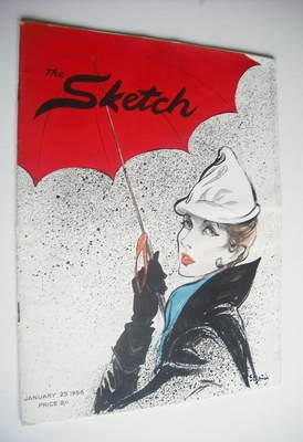 The Sketch magazine - 25 January 1956