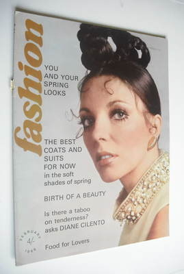 Fashion magazine - February 1969 - Joan Collins cover
