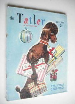 Tatler & Bystander magazine - 7 December 1955