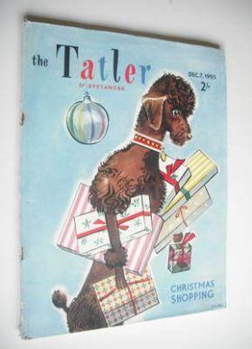 <!--1955-12-07-->Tatler & Bystander magazine - 7 December 1955