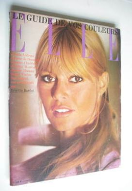 <!--1965-10-14-->French Elle magazine - 14 October 1965 - Brigitte Bardot c