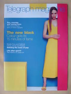 <!--1999-05-15-->Telegraph magazine - 15 May 1999