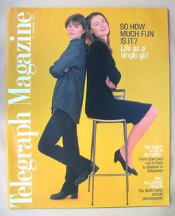 <!--1998-02-21-->Telegraph magazine - Sarah Vesey and Sarah Foot cover (21