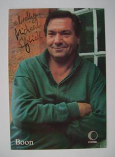 Michael Elphick autograph