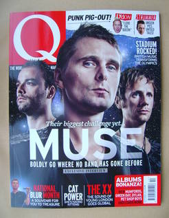 Q magazine - Muse cover (October 2012)