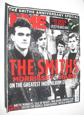 <!--2011-06-18-->NME magazine - The Smiths cover (18 June 2011)