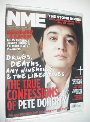 <!--2012-04-07-->NME magazine - Pete Doherty cover (7 April 2012)