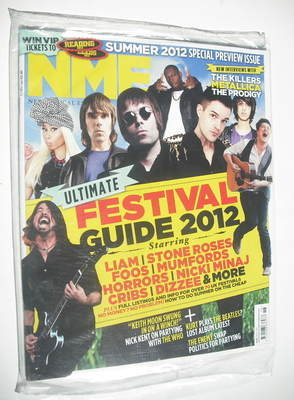 <!--2012-05-05-->NME magazine - Ultimate Festival Guide 2012 cover (5 May 2
