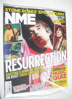 <!--2012-06-02-->NME magazine - The Stone Roses cover (2 June 2012)