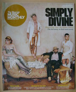 The Observer Music Monthly magazine - December 2004 - The Scissor Sisters cover