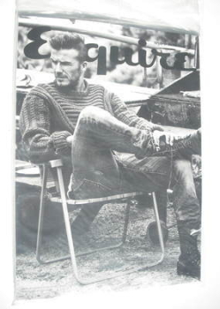 Esquire magazine - David Beckham cover (September 2012 - Subscriber's Issue)
