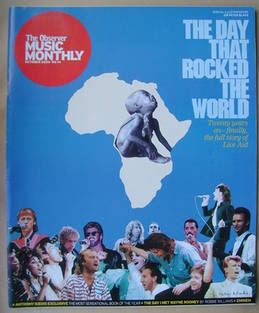 The Observer Music Monthly magazine - October 2004 - The Day That Rocked The World cover