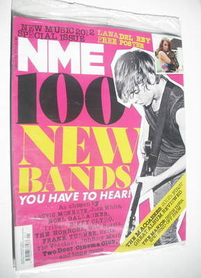 <!--2012-01-07-->NME magazine - 100 New Bands You Have To Hear cover (7 Jan