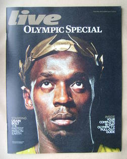 <!--2012-09-22-->Live magazine - Usain Bolt cover (22 July 2012)