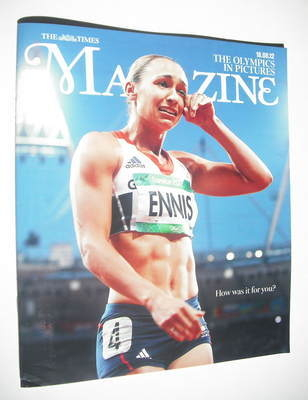 <!--2012-08-18-->The Times magazine - Jessica Ennis cover (18 August 2012)